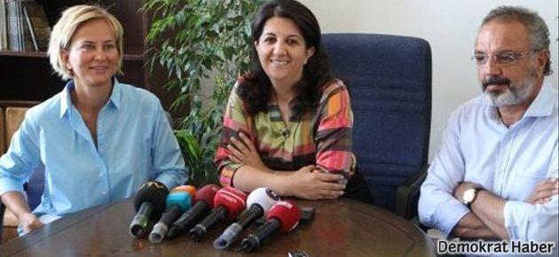 Aylin Kotil BDP ve CHP grubunu ziyaret etti