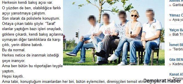 Ayşe Arman polis röportajlarına devam etti