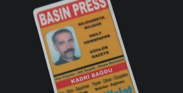 Azadiye Welat çalışanı Kadri Bağdu'nun katilini mahalle gördü, 52 kamera göremedi!