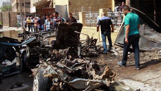 Bağdat'ta patlamalar: 8 ölü