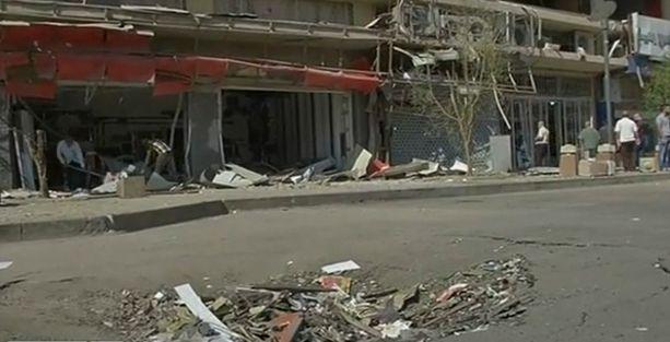 Bağdat'ta THY ofisi önünde patlama