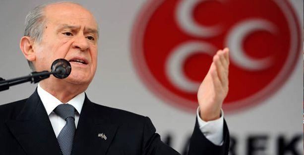 Bahçeli: Erdoğan AKP'ye bostan korkuluğu dikmiştir