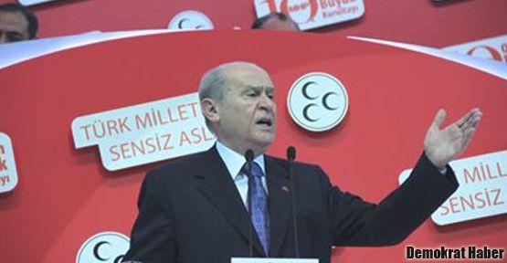 Bahçeli: Türkiye'de Kürt sorunu yoktur