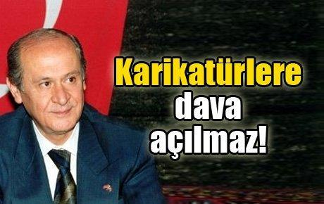 Erdoğan'a ders: Karikatürlere dava açılmaz!