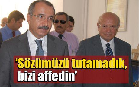 Bakan Dinçer öğretmenlerden özür diledi!