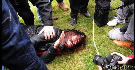 Bakan Günay'a yumurtalı protestoya müdahale