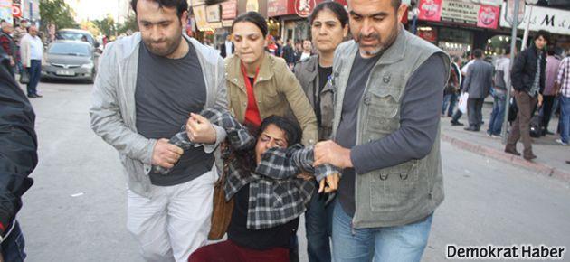 Bakan'a yumurtalı protestoya 10 gözaltı