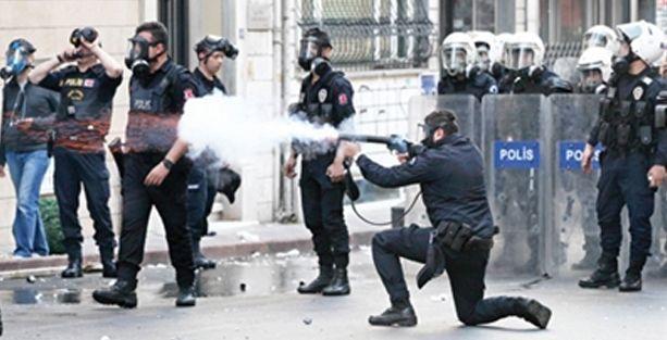 Bakanlık başından gaz bombası ile vurulan vatandaşı suçlu buldu!