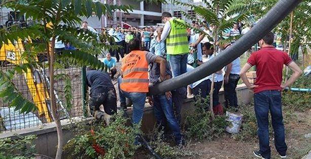 Bakanlık hizmet binası inşaatında göçük: 1 ölü!