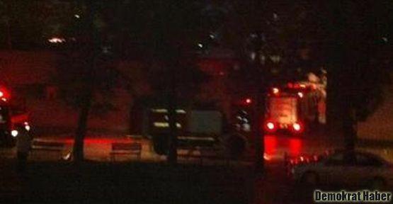 Bakırköy Cezaevi'nde yangın