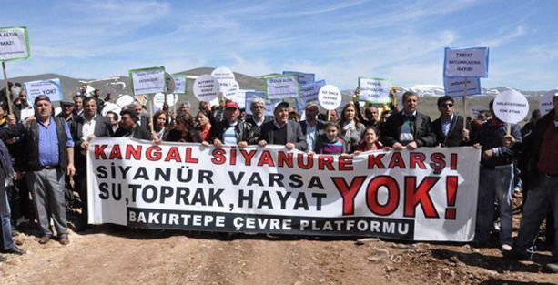 Bakırtepe'de siyanürlü altına bir durdurma daha