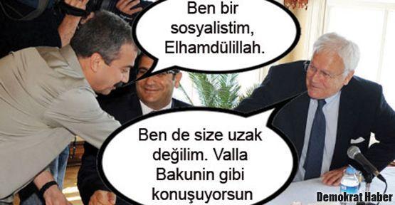 Bakunin, Sırrı Süreyya Önder'in hısımı olurmuş