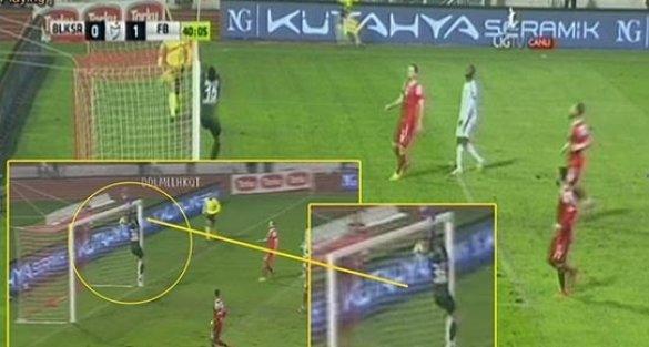 Balıkesirspor kalecisinin Fenerbahçe'den yediği gol tartışma yarattı