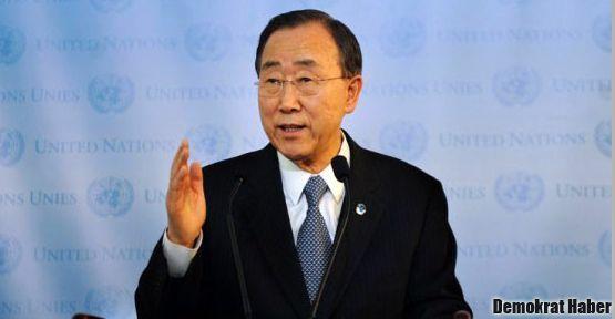 Ban Ki-mun: Suriye'de askeri yolla çözüm olmaz