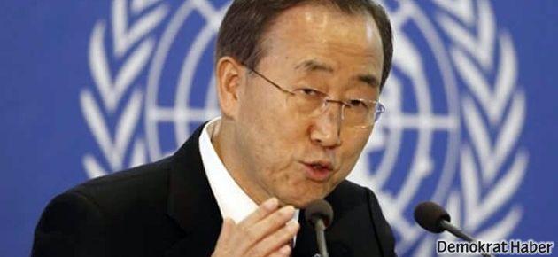 Ban Ki-mun'dan Suriye uyarıları
