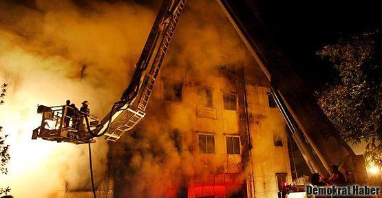Fabrikada yangın: 112 işçi öldü