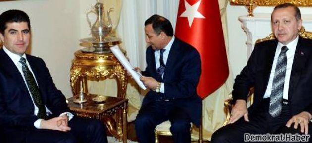 Başbakan Barzani ile petrol konuştu