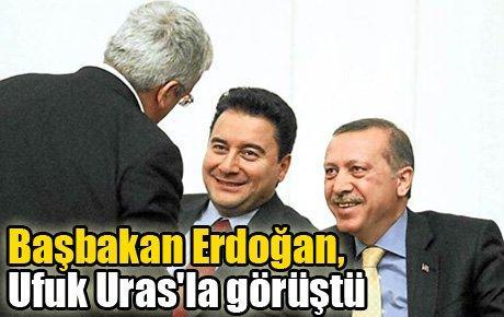Başbakan Erdoğan, Ufuk Uras'la görüştü