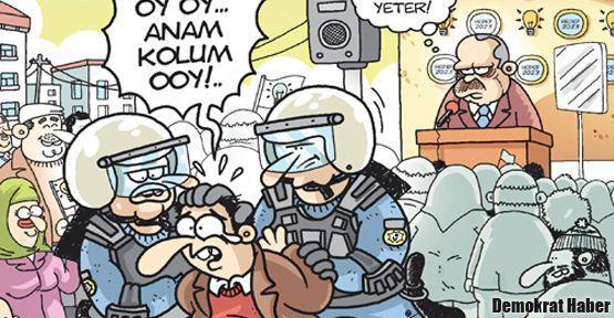 Başbakan'a 'Size oy yok' Gırgır'da