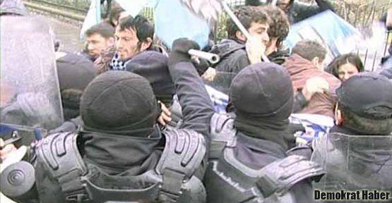 Başbakan'ı protesto eden 18 öğrenci gözaltına alındı