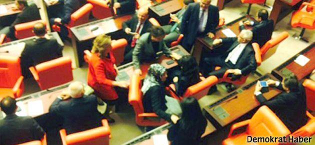 Başörtülü vekiller Meclis'te