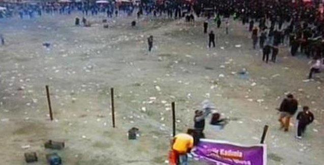 Polis, Batman'daki Newroz'a gaz bombasıyla saldırdı: Yaralılar var