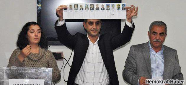 Batman'da BDP önseçimi Demir'siz yaptı
