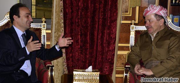 Baydemir, Barzani ile görüştü