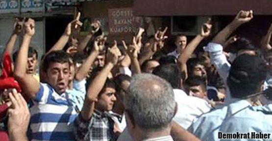 BDP Bodrum İlçe binasına ırkçı saldırı