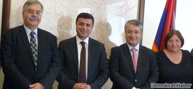 BDP, Ermenilerle görüştü!
