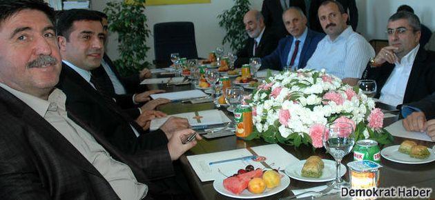 BDP Eşbaşkanı Akil İnsanlarla buluştu