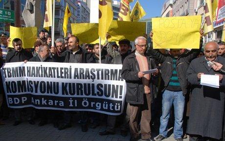BDP: Geçmişle yüzleşmeden barış olmaz