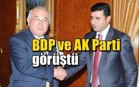 BDP ve AK Parti görüşmesi gerçekleşti