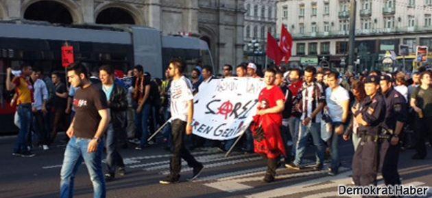 BDP ve Çarşı, Gezi için Viyana'da direndi