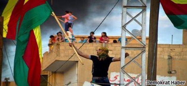 BDP'den Kadıköy'de Rojava mitingi