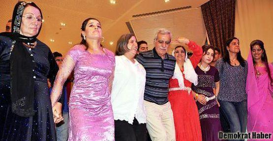 BDP'li vekiller düğünde buluştu