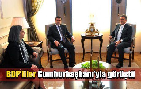 BDP'liler Cumhurbaşkanı'yla görüştü