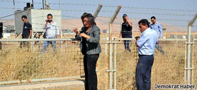 BDP'liler Suriye sınırındaki duvara tepkili