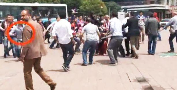 BDP'lilere silahlı saldırının görüntüleri!
