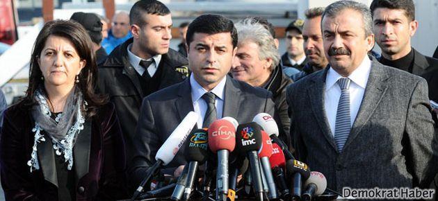 BDP'den 'heyet İmralı'ya gitti' haberlerine yalanlama