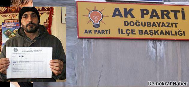 BDP'den aday olmaya gitti AK Partili çıktı!