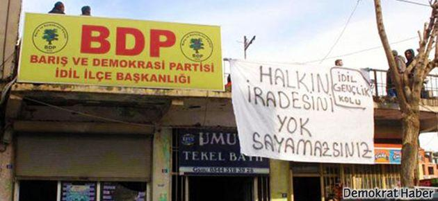 BDP'yi bu sefer BDP'liler bastı