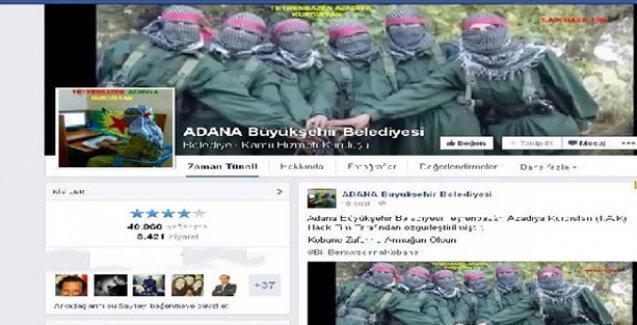 Belediyenin hesabını Kürt hackerler ele geçirdi