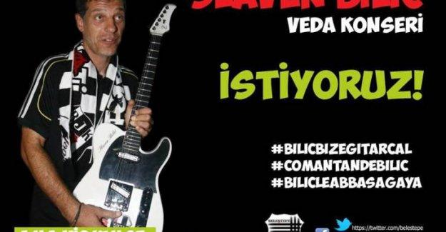 Beleştepe'nin Slaven Bilic'ten son bir isteği var: #BilicBizeGitarCal