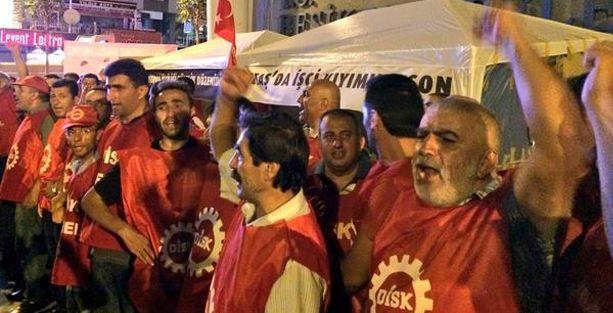 BELTAŞ işçilerine zabıta saldırdı