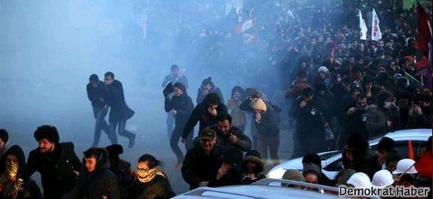 Berkin Elvan eylemlerinde polis müdahalesinden kareler