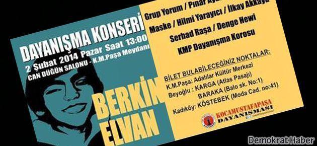 Berkin Elvan için dayanışma konseri