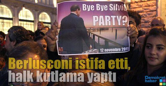 Berlusconi istifa etti