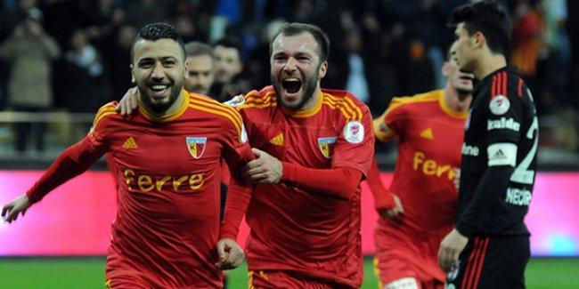Beşiktaş Kupa'ya veda etti