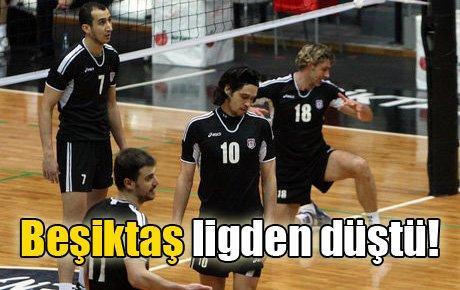 Beşiktaş ligden düştü!